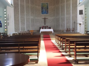 The Chapel at the Ad Gentes center in Nemi
