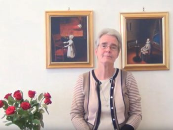 Welcoming video of Sr Jane Livesey CJ