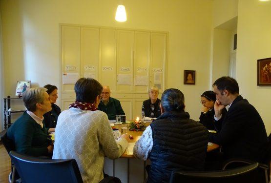 Erste Sitzung der Planungsgruppe für die General Kongregation 2020
