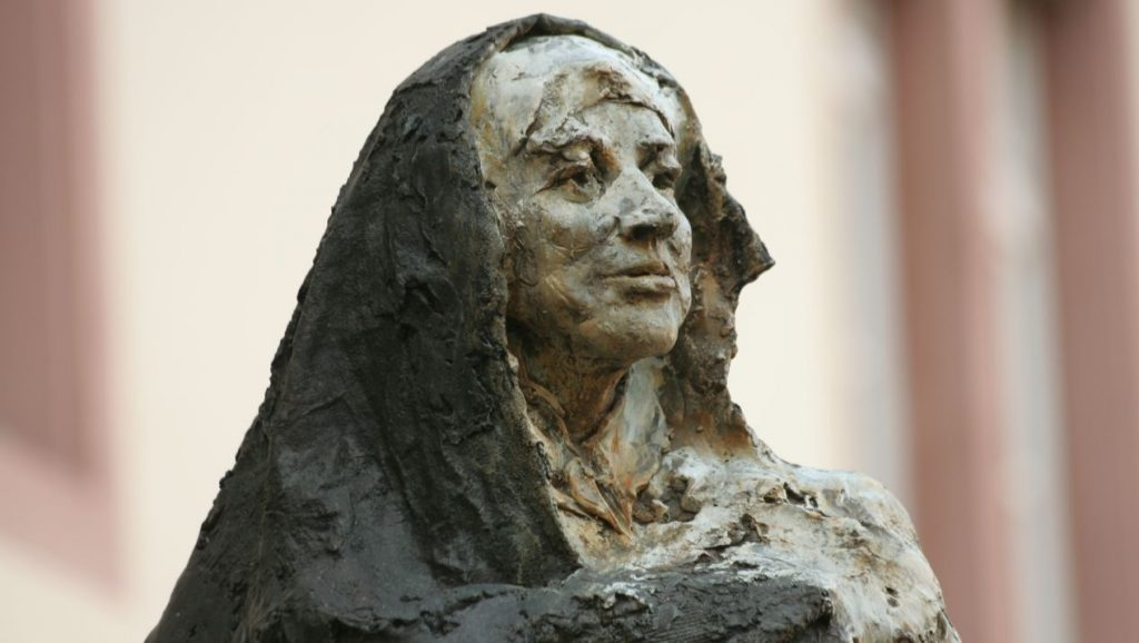statue of Mary Ward