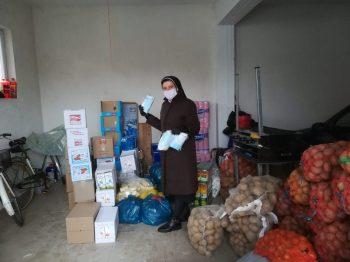 Ayuda generosa en Rumania