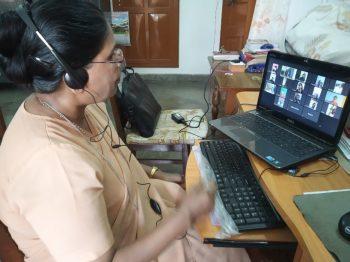 Enseñanza en línea en la provincia de Allahabad