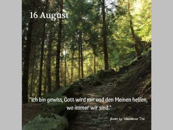 16. August