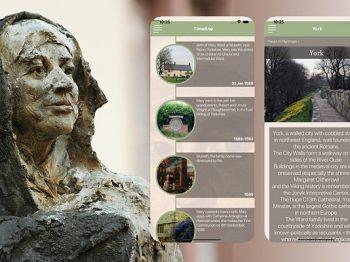 Auf Pilgerschaft mit Mary Ward: App zu wichtigen Mary-Ward-Orten erschienen